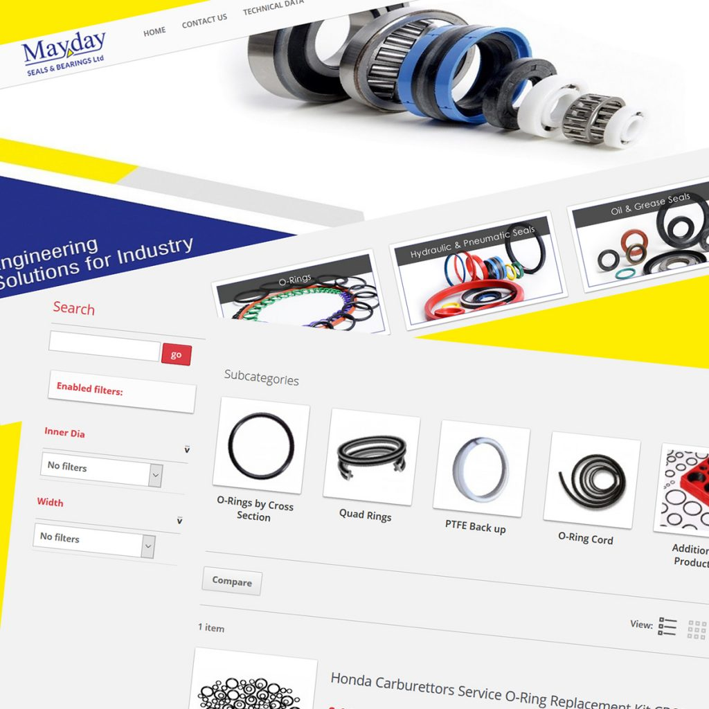 Portfolio - MayDay Seals - Prestashop Development